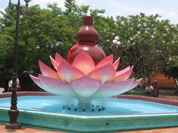這是佛教的公園吧
