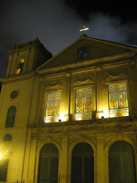 教堂的雕花玻璃