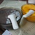 紫米粥&芒果豆花