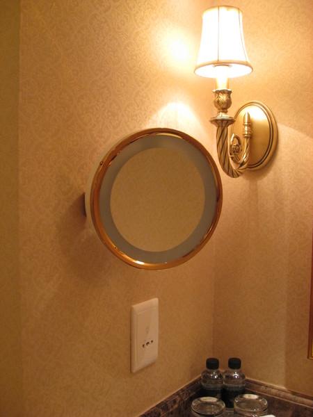 浴室裡也有這個奇妙的鏡子