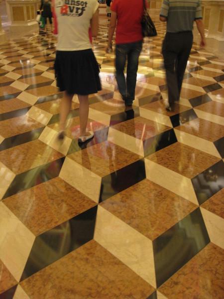 地板好像巧克力