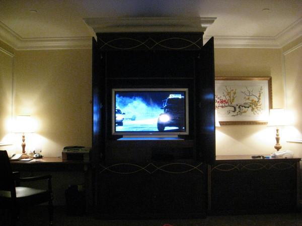 很大的電視