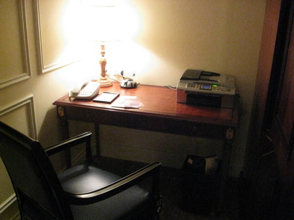 房間裡也有書桌
