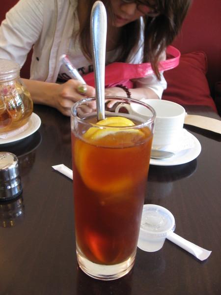 我的冰檸檬茶