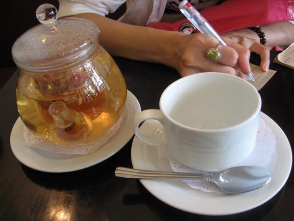 ann的玫瑰花茶