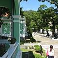 土生葡人之家-綠色牆是特色