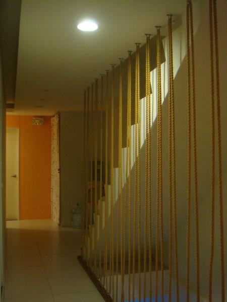 花蓮民宿的走廊
