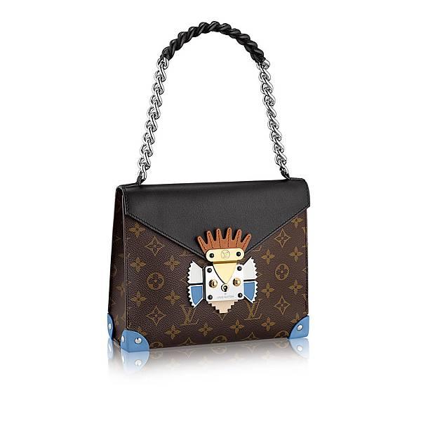 louis-vuitton-pochette-mask-chain-gm-monogram-canvas-special-handbags--M50130_PM2_Front view