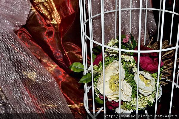 婚紗照簡約佈置1001126