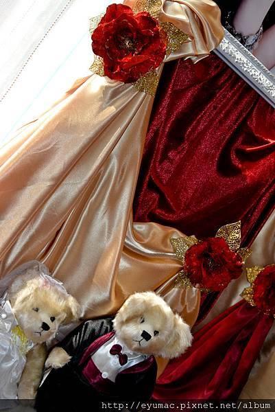 彰化松戶1001224-婚紗照佈置