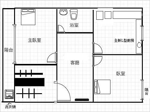 台中市二房公寓出租