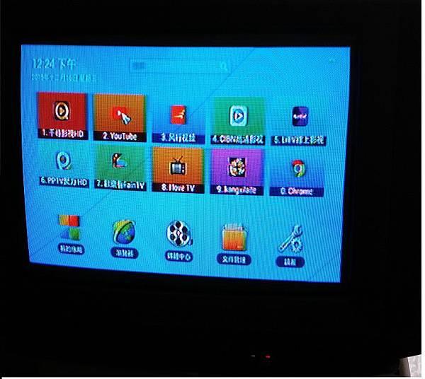 2傳統電視1