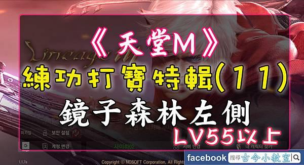 《天堂M》打寶練功特輯(11) 鏡子森林左側 – LV55以上.jpg