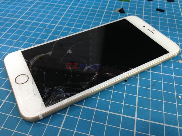 史上最大! Iphone 6 Plus 第一手摔機維修全紀錄2