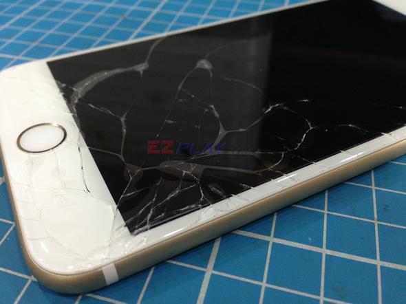 史上最大! Iphone 6 Plus 第一手摔機維修全紀錄3