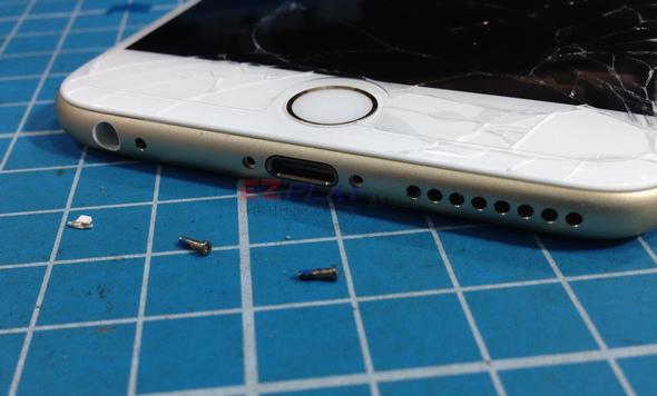 史上最大! Iphone 6 Plus 第一手摔機維修全紀錄4