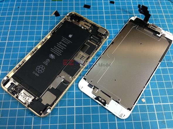 史上最大! Iphone 6 Plus 第一手摔機維修全紀錄7