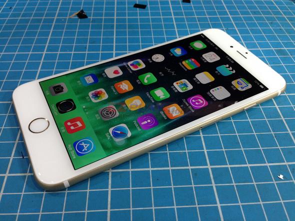 史上最大! Iphone 6 Plus 第一手摔機維修全紀錄16