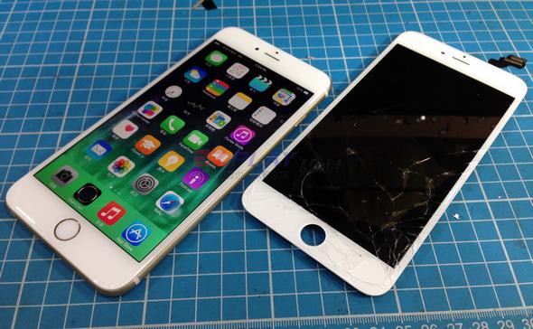 史上最大! Iphone 6 Plus 第一手摔機維修全紀錄18