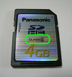 SD記憶卡,會影響資料讀取速度3