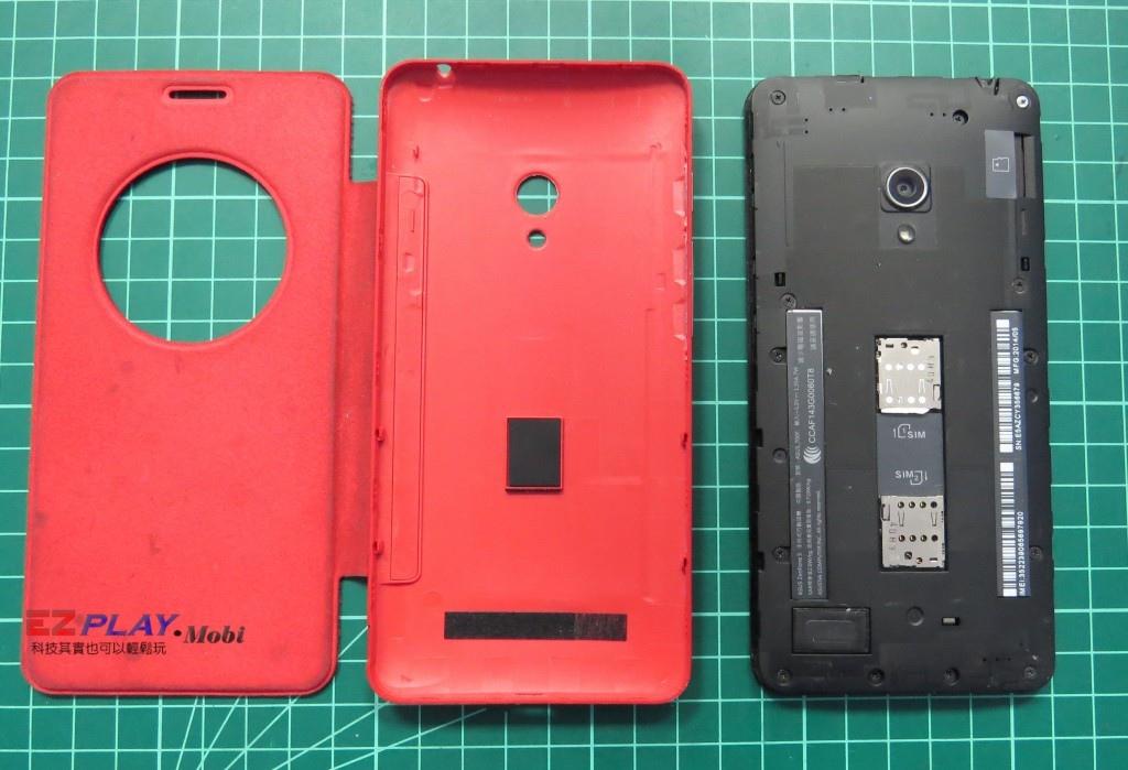 華碩Zenfone5面板拆裝記4