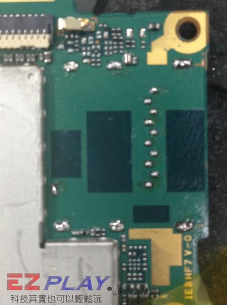 Sony Xperia Z1 手機無訊號維修紀錄6