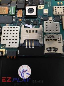 Samsung Note N7000 SIM卡座損壞更換實錄1