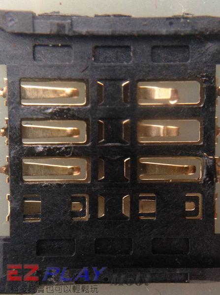 Samsung Note N7000 SIM卡座損壞更換實錄7