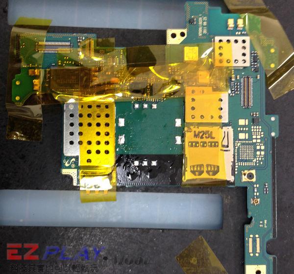 Samsung Note N7000 SIM卡座損壞更換實錄10