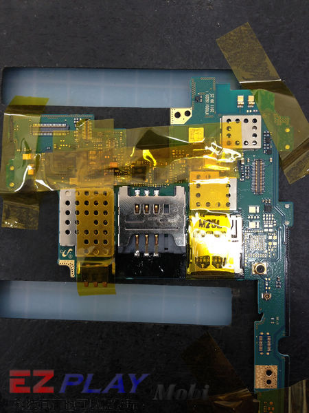 Samsung Note N7000 SIM卡座損壞更換實錄12