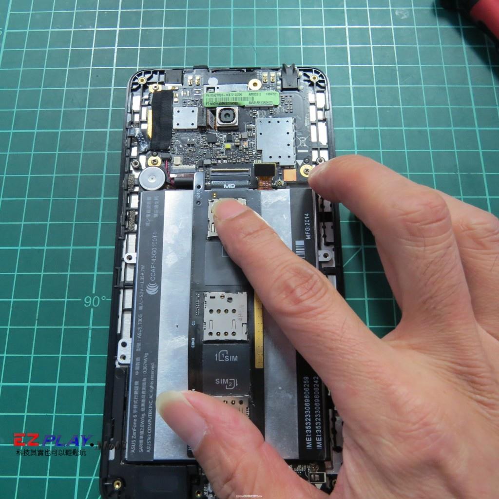 維修預算不夠單換液晶行嗎華碩Zenfone6面板修復記8