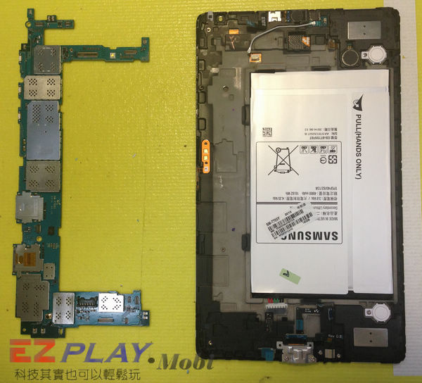 超薄平板 Samsung GALAXY Tab S 面板更換實錄6