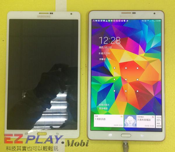 超薄平板 Samsung GALAXY Tab S 面板更換實錄12