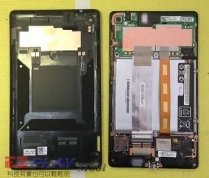 小天使惡魔的報復 Nexus 7 二代 面板維修記1