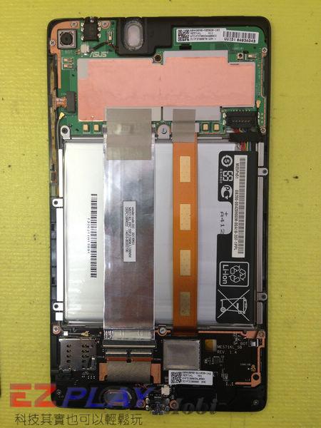 小天使惡魔的報復 Nexus 7 二代 面板維修記4