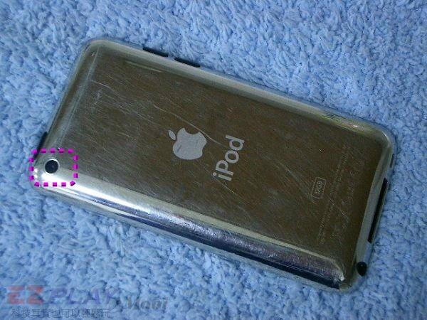 iPod Touch 4面板破裂,連液晶也必須更換!3
