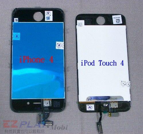 iPod Touch 4面板破裂,連液晶也必須更換!5
