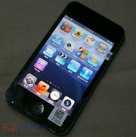 iPod Touch 4面板破裂,連液晶也必須更換!10