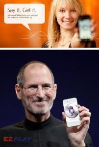 準備看好戲,微軟正面挑釁 iPhone 的 Siri1