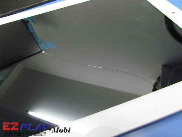 Ipad二代玻璃觸控LCD破裂就是這樣維修的2