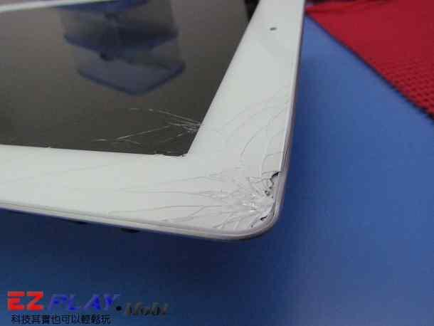 Ipad二代玻璃觸控LCD破裂就是這樣維修的4