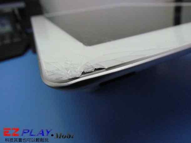 Ipad二代玻璃觸控LCD破裂就是這樣維修的5