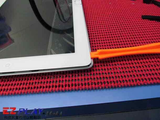 Ipad二代玻璃觸控LCD破裂就是這樣維修的8