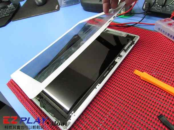 Ipad二代玻璃觸控LCD破裂就是這樣維修的10