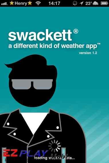 用Swackett 看天氣狀況穿搭衣物2