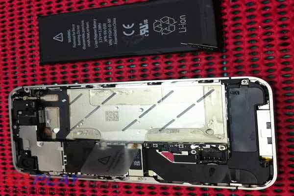 不小心把iphone 4S掉入洗衣機的結果3