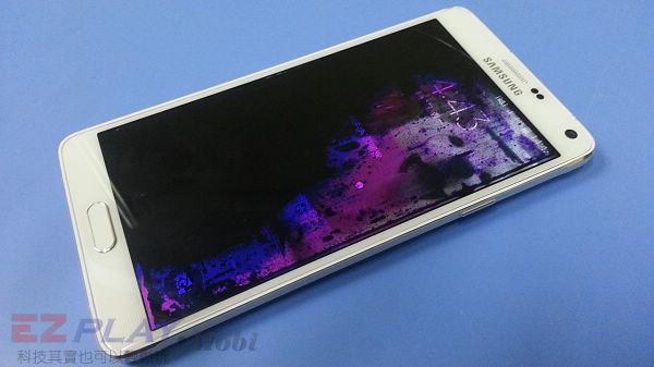 可惡的膠和超薄面板三星Note 4玻璃面板液晶維修之─驚心動魄2