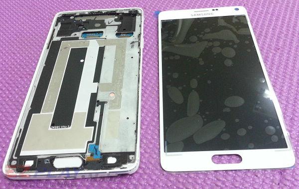 可惡的膠和超薄面板三星Note 4玻璃面板液晶維修之─驚心動魄8