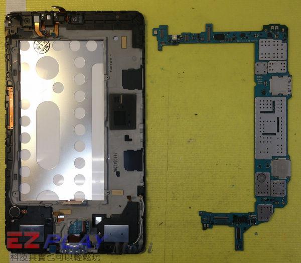 小白的整形日記~Samsung Tab Pro 8.4 平板面板更換全記錄7