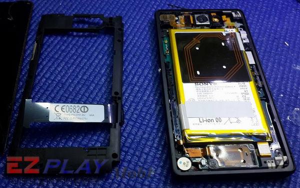 華麗變身,黑機變白機,SonyXperia Z2a 面板更換實錄4
